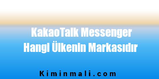 KakaoTalk Messenger Hangi Ülkenin Markasıdır