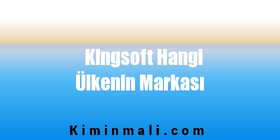 Kingsoft Hangi Ülkenin Markası