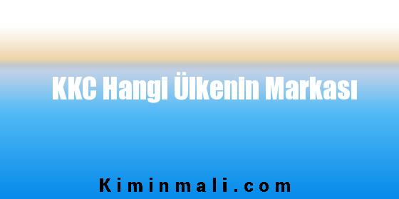 KKC Hangi Ülkenin Markası