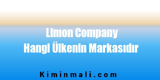 Limon Company Hangi Ülkenin Markasıdır