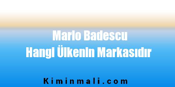 Mario Badescu Hangi Ülkenin Markasıdır