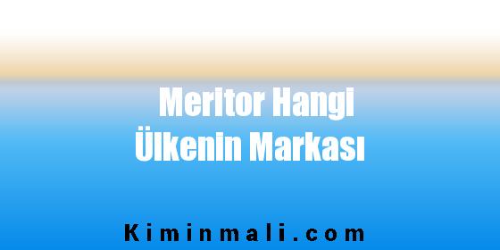 Meritor Hangi Ülkenin Markası