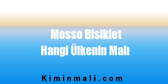 Mosso Bisiklet Hangi Ülkenin Malı