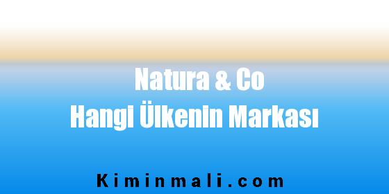 Natura & Co Hangi Ülkenin Markası