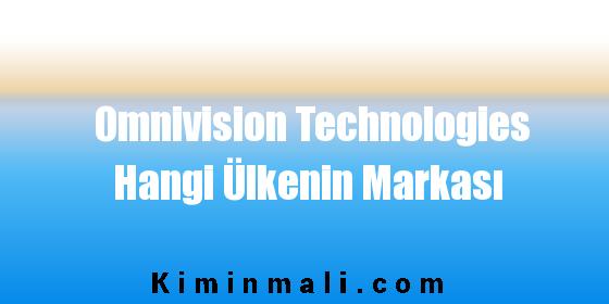 Omnivision Technologies Hangi Ülkenin Markası