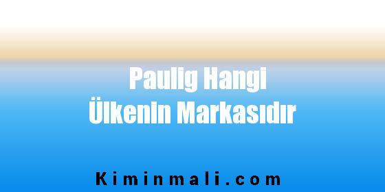 Paulig Hangi Ülkenin Markasıdır