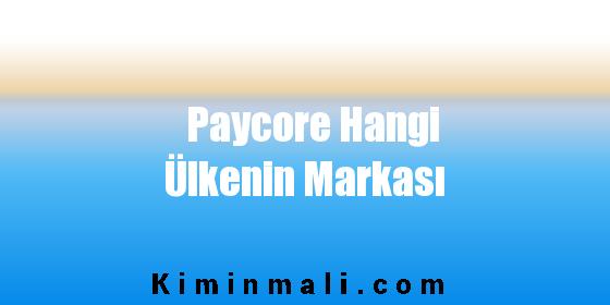 Paycore Hangi Ülkenin Markası