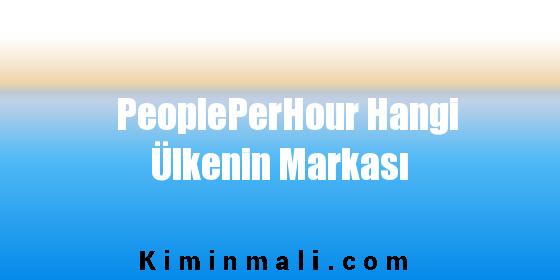PeoplePerHour Hangi Ülkenin Markası