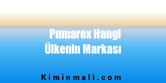 Pumarex Hangi Ülkenin Markası