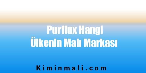 Purflux Hangi Ülkenin Malı Markası