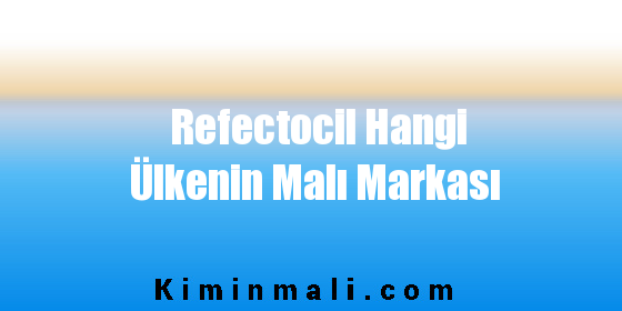Refectocil Hangi Ülkenin Malı Markası