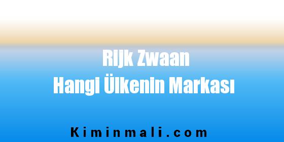 Rijk Zwaan Hangi Ülkenin Markası