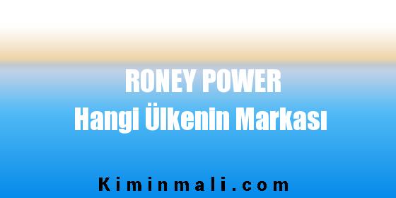 Roney Hangi Ülkenin Markası
