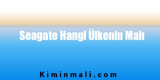 Seagate Hangi Ülkenin Malı