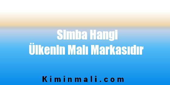 Simba Hangi Ülkenin Malı Markasıdır