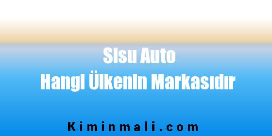 Sisu Auto Hangi Ülkenin Markasıdır