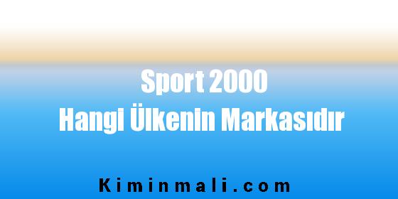 Sport 2000 Hangi Ülkenin Markasıdır