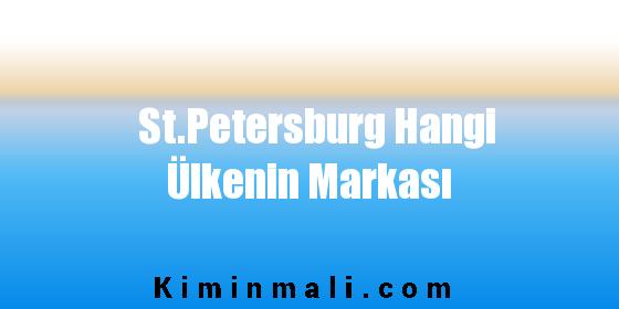 St.Petersburg Hangi Ülkenin Markası