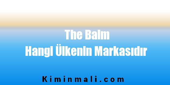 The Balm Hangi Ülkenin Markasıdır