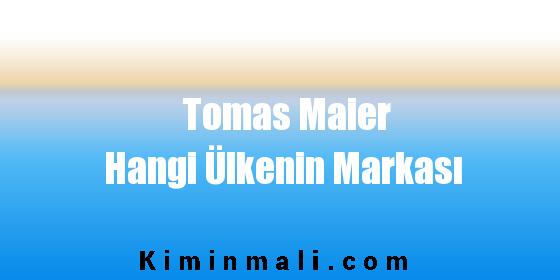 Tomas Maier Hangi Ülkenin Markası