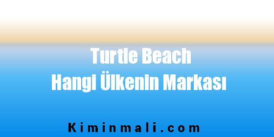 Turtle Beach Hangi Ülkenin Markası