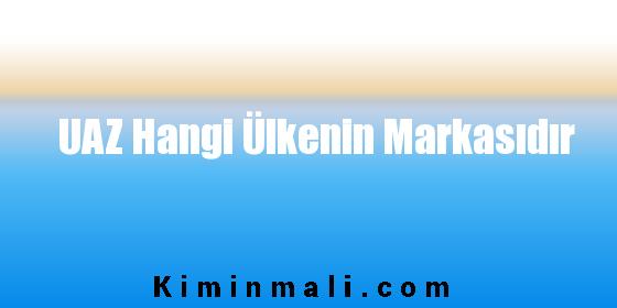 UAZ Hangi Ülkenin Markasıdır