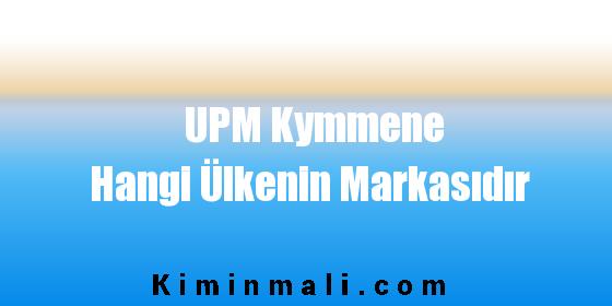 UPM Kymmene Hangi Ülkenin Markasıdır