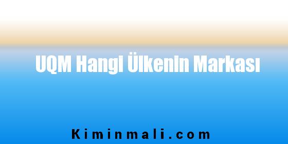 UQM Hangi Ülkenin Markası