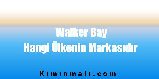 Walker Bay Hangi Ülkenin Markasıdır