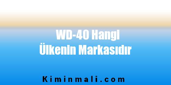 WD-40 Hangi Ülkenin Markasıdır