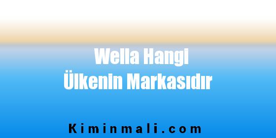 Wella Hangi Ülkenin Markasıdır