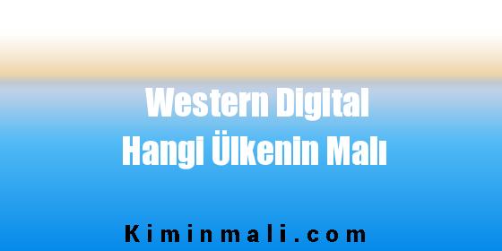 Western Digital Hangi Ülkenin Malı
