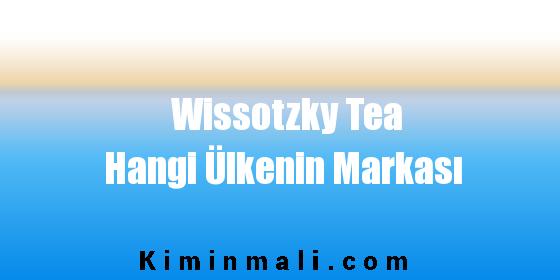 Wissotzky Tea Hangi Ülkenin Markası
